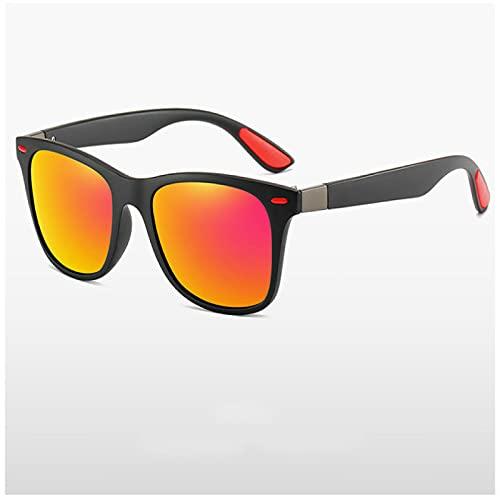 Akaid Gafas de Sol, Gafas de Sol polarizadas clásicas para Hombres y Mujeres, Gafas de Sol con Montura Cuadrada para Conducir, Gafas para Hombres