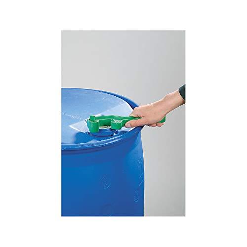 Certeo Kunststoffschlüssel zum Öffnen von Fässern | Fass Kunststofffass Stopfen Deckel Fassschlüssel