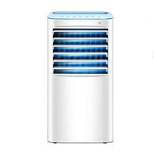 CX Acondicionador de Aire Evaporativo con Control Remoto, Ventilador de Refrigeración Silencioso Móvil Deshumidificadores de Aire Purificador de Aire 3 en 1 Unidad de Aire Acondicionado de Ba