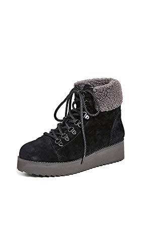 Sam Edelman Women's Franc Ankle Boot, Black Suede, 11 Medium US