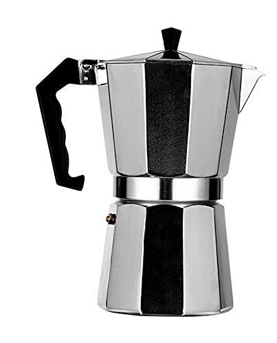 YJSS JXXXJS Cafetera de Aluminio Duradera y práctica Mocha Cafetera 50/100/150/300/450 / 600ml (Color : 600ml)