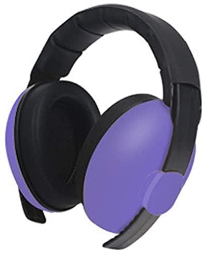 TXXM Dziecko ochronne Earmuffs Anti-Noise Baby Dźwiękoszczelne Earmuffs (Color : Purple)