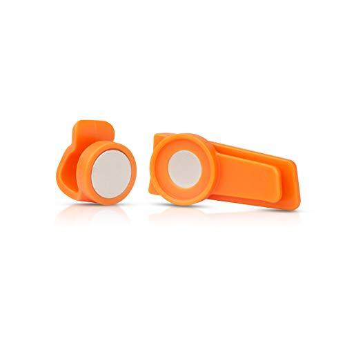 Source Clip magnétique extérieur pour Tube de système d'hydratation (Orange)