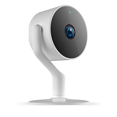 eco4life Wi-Fi Wireless Smart IP Camera with Dedicated Mobile App, Full HD 1080P, Indoor IP Camera with Night Vision, Two Way Audio, Motion Detection. Pet/Baby Monitor