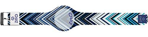 Orologio digitale unisex piccolo ZITTO MISSY STREET EDITION in silicone blu NOTBLUE-MINI-KP