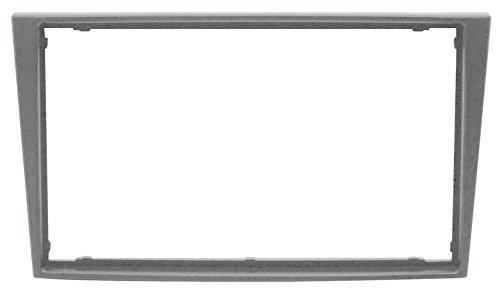 PH 3/354 Mascherina con foro Doppio Din colore argento Compatibile con Opel/Renault/Suzuki