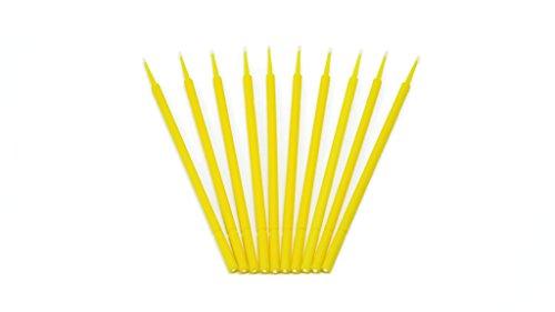 E&K Automotive 10er Set Lacktupfer 1,5 mm Micropinsel Minitupfer zur Lackreparatur | zum Ausbessern von Lackschäden an Autos oder für den Modellbau