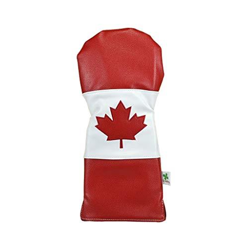 Foretra Golfschlägerhaube, limitierte Auflage, Kanada-Flagge, Golfschlägerhaube – Stil und Individualisieren Sie Ihre Golftasche
