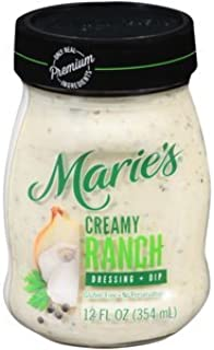MARIE'S REFRIGERATED SALAD DRESSING CREAMY RANCH 12 OZ PACK OF 3