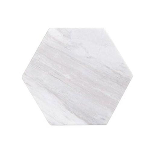 Dessous de verre en marbre naturel pour présentation de bijoux, produits faits à la main.