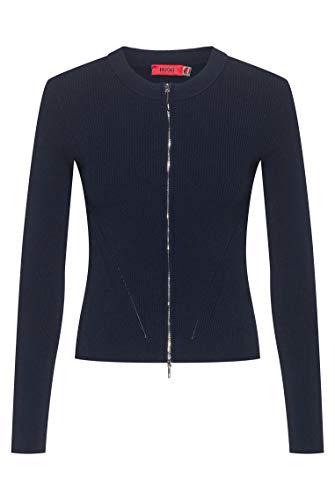 HUGO Damen Sicily Lässiger Business-Blazer, Open Blue464, S