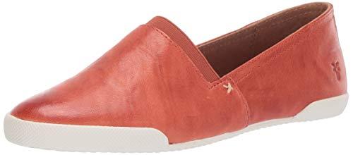Frye Women's Melanie Slip On Sneaker, Sunset Orange, 10