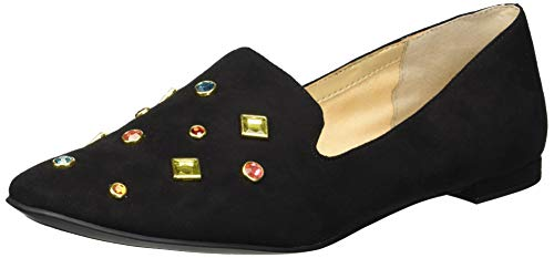 Katy Perry Women's The Turner Loafer Flat, black, 8 M Medium US