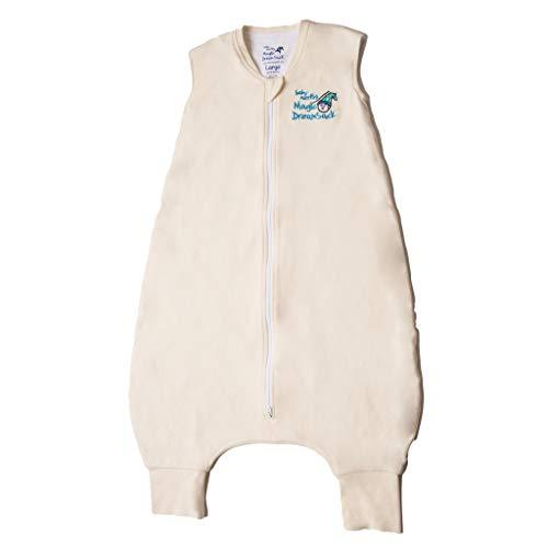 Baby Merlin's Magic Dream Sack Walker- Double Layer Wearable Blanket - Cotton - Cream - 12-18 Months