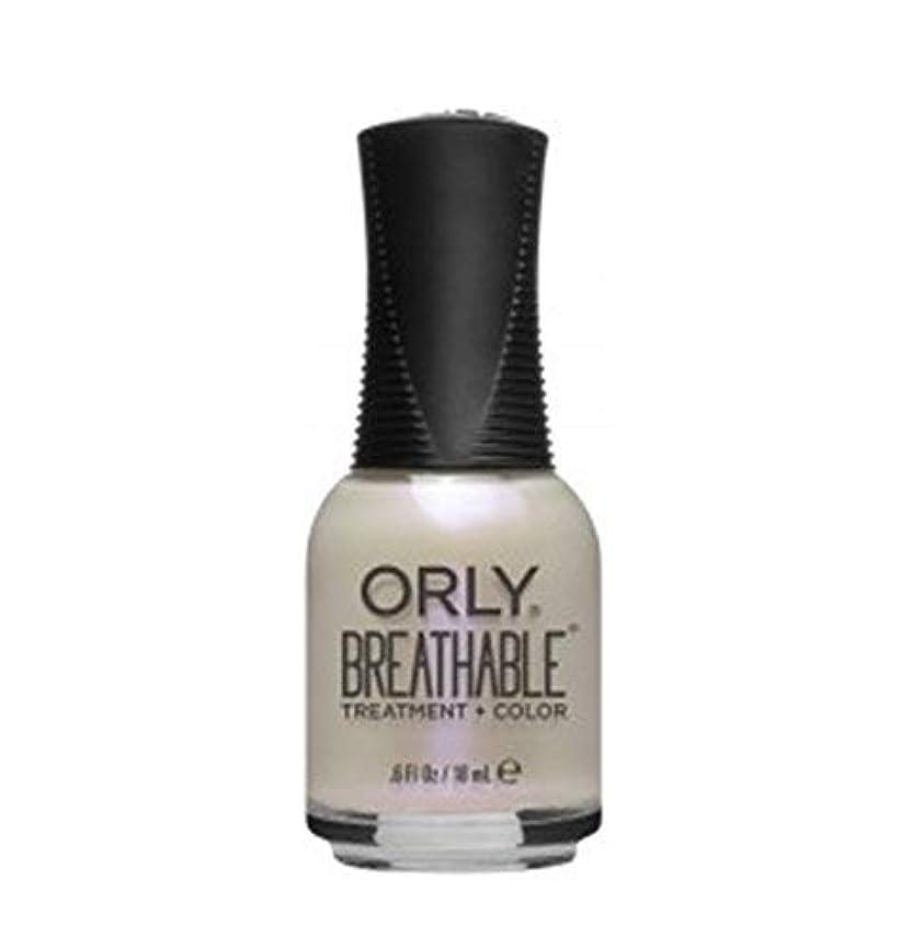 掘る閲覧する映画ORLY Breathable Lacquer - Treatment+Color - Crystal Healing - 18 ml/0.6 oz