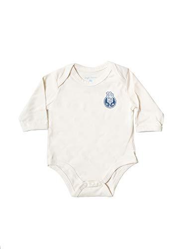 FC Porto Body Orgnico Bege Com Logo Body, Bebé-Niños, Bege, 3/6