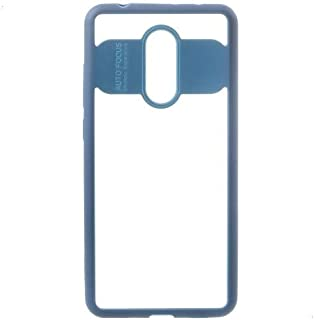 Okteq Cover for Xiaomi Redmi 5 - Clear and Blue