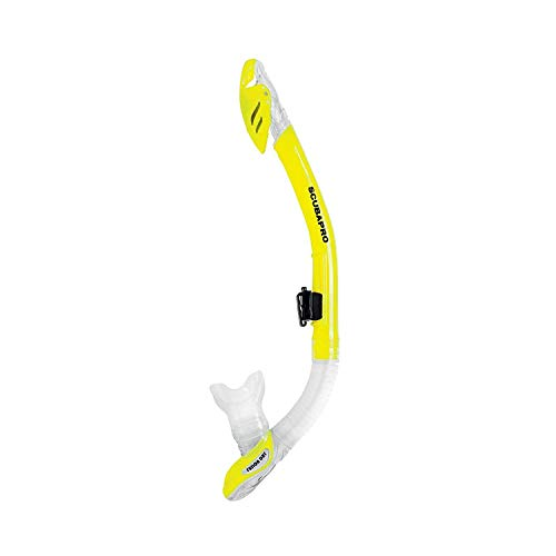 Scubapro Schnorchel mit Ventil - Fusion Dry (Farbe: gelb)