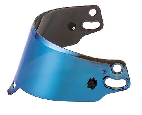 Visière Iridium bleu Sparco Casque
