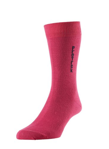 HDUK Mens Socks HJ Hall ProTrek hj836/2Coolmax® Thermo Walking Wandern Kofferraumwanne Socken (2Paar) UK Größen 3bis zu 15, Pink, HJ 836/2 - Liner - 2 Pair Pack