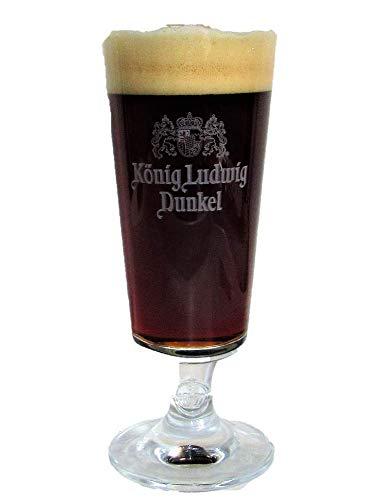 König Ludwig - Vaso de Cerveza (0,3 L), Color Oscuro
