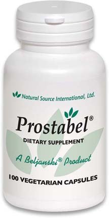 Prostabel®, A Beljanski Product®, Supports Prostate and Urinary Health. Reduce Bathroom Trips. Herbal – Non-Toxic. 100-350 mg Capsules containing Pao Pereira and Rauwolfia vomitoria extracts.