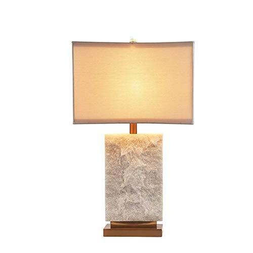JFHGNJ Moderne tafellamp albast basis neutraal wit familiehotel