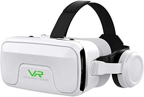 Glazen met virtual reality helm - bril met VR bril met 3D-bril met blauw licht en VR-bril voor smartphones 4,7-6,0 inches