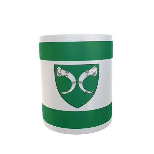 U24 Tasse Kaffeebecher Mug Cup Flagge Gescher