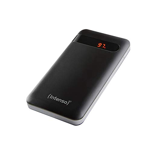 Intenso Powerbank PD 10000 - externer Akku mit Power Delivery & Quick Charge 3.0 (10000mAh, geeignet für Smartphone, Tablet, MP3 Player, Digitalkamera), schwarz