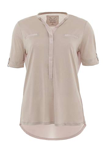 DAILY`S NOTHING`S BETTER BY S. W. B. Jacky: Blusenshirt 1/2 Arm, Color:Sand, Size:XXL