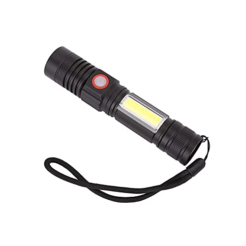 Linternas de Mano LED IPX4 Equipo para Exteriores a Prueba de Agua para Senderismo, Camping, Supervivencia, Emergencia