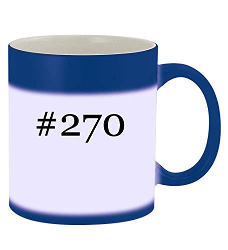 #270-11oz Hashtag Magic Color Changing Mug, Blue