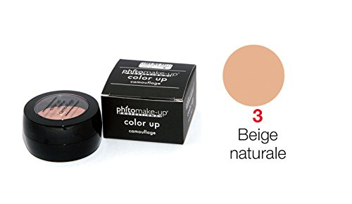 Color Up Camouflage - Phitomakeup Professional (3 - Beige Naturale)