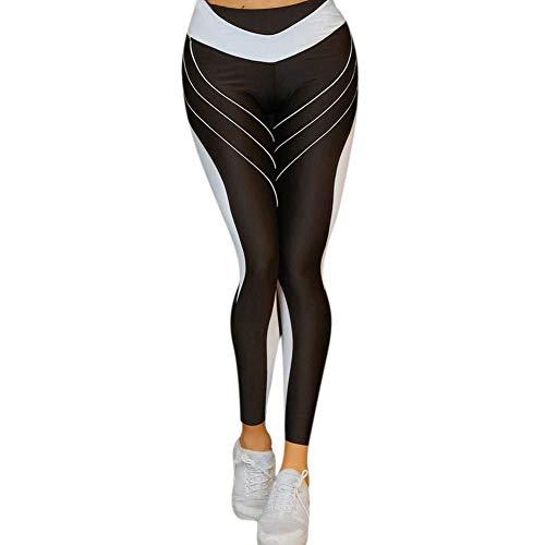 Leggings Deportivos Pantalones Simple De Señoras Estilo Correr Yoga Deportivas Leggings Equitación Fitness Bailarinas Estampado Pantalones Deportivos Estiramiento De La Fuerza Medias De