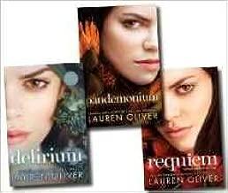 Delirium Trilogy Collection Lauren Oliver 3 Books Set HARDCOVER (Delirium, Pandemonium, Requiem)