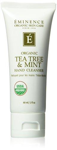 Eminence Organics Tea Tree and Mint Hand Cleanser, 2 Ounce