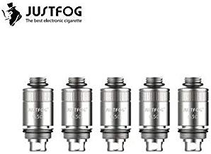 Justfog Resistenze di ricambio coil 0,5 Ohm per sigaretta elettronica FOG 1 (confezione da 5 pz) prodotto senza nicotina