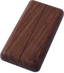 Heizrohr-Rosetten Typ Casa 100 | Massivholz | Jatoba | lackiert | 100 x 50 mm