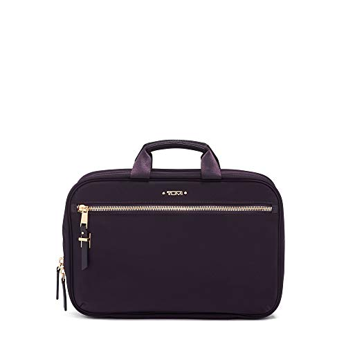 TUMI - Voyageur Madina Cosmetic Bag - Luggage Accessories Travel Kit for Women - Blackberry
