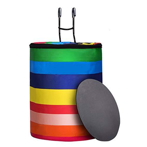 XY&CF Fahrradkorb Lenkertasche Multi-Purpose Abnehmbare Leinwand Material Profi Radsport Zubehör Easy Install (Color : D)