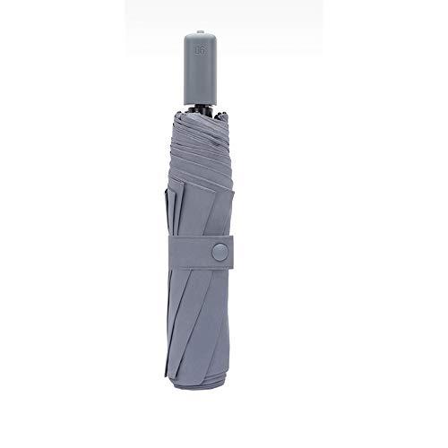 paraguas CWT Sombrilla portátil Plegable de Gran tamaño, Parasol, Protector Solar, protección UV (Color : B)