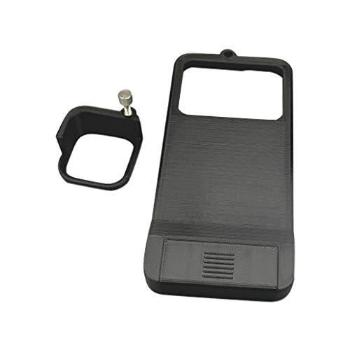 UKtrade - Placa de montaje para interruptor compatible con DJI OSMO Mobile 3+ GoPro-Hero 8, color negro