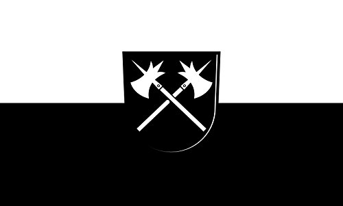 Unbekannt magFlags Tisch-Fahne/Tisch-Flagge: Untereisesheim 15x25cm inkl. Tisch-Ständer