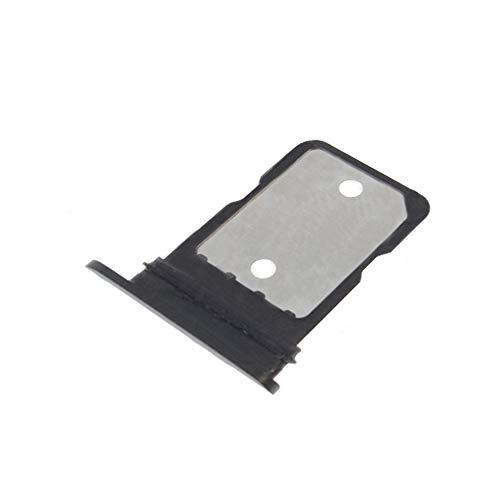 MMOBIEL SIM Karte Tray Kompatibel mit Google Pixel 4 2019 5.7 inch (Just Black/Schwarz) inkl SIM Pin