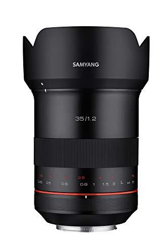 Samyang XP 35mm F1.2 Canon EF - manuelles Weitwinkel Objektiv, 35 mm Festbrennweite für Canon Vollformat & APS-C Kameras mit EF/EF-S Anschluss, für EOS Serie, ideal für Landschaftsaufnahmen