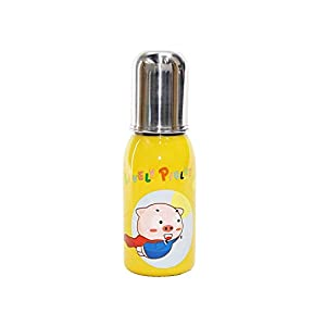 KS Stainless Steel Cartoon Graphics Colourful Baby's Feeding Bottle (Multicolour , Medium - 300 ml ) 11 312y1uPWqpL. SS300
