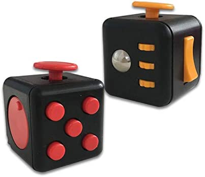 MOLECOLE 2 Pack Fidget Toys Set Premium Quality Fidget Cube Ball Stress Relief and Anti Anxiety product image