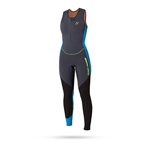 Magic Marine Womens Ultimate 4mm Long John Wetsuit 2020 - Black XS