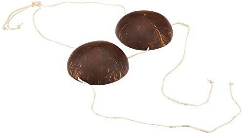 Beistle Coconut Bikini-Top, verstellbar
